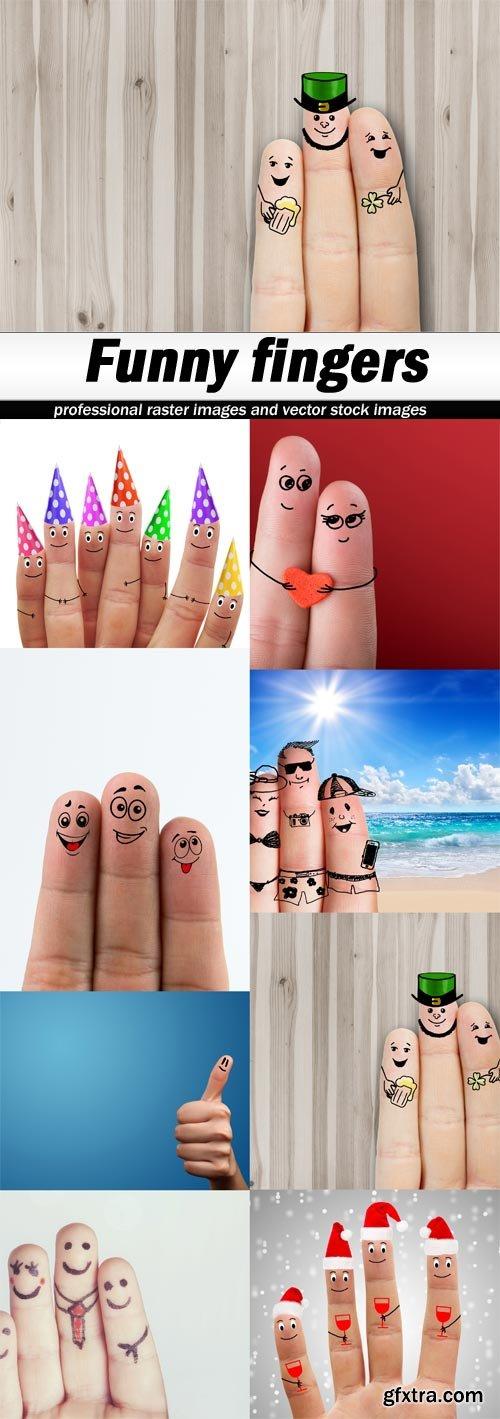 Funny fingers-8xJPEGs