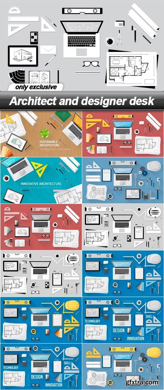 Architect and designer desk - 13 EPS