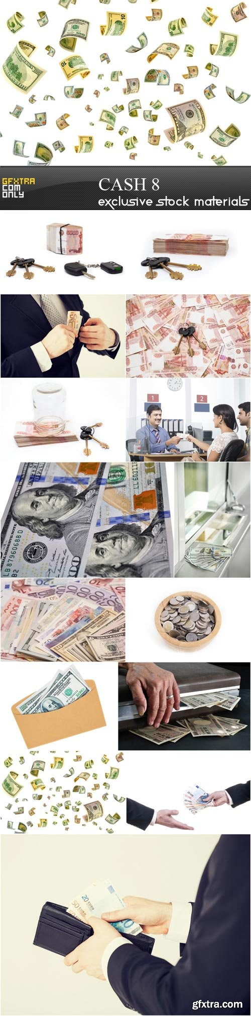 Cash,15x UHQ JPEG