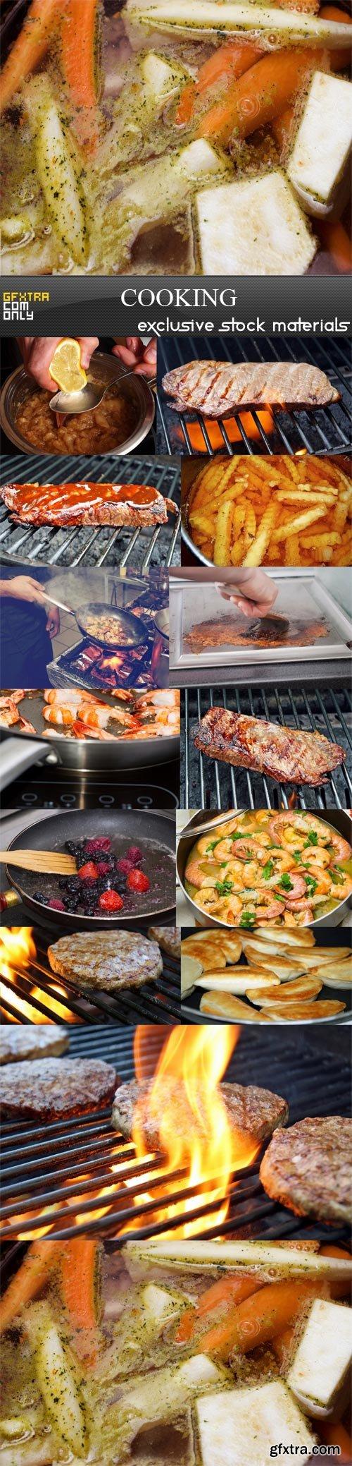 Cooking,12 x UHQ JPEG