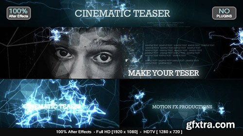 Videohive Cinematic Teaser 14593581 (SOUND FX FILE INCLUDED)