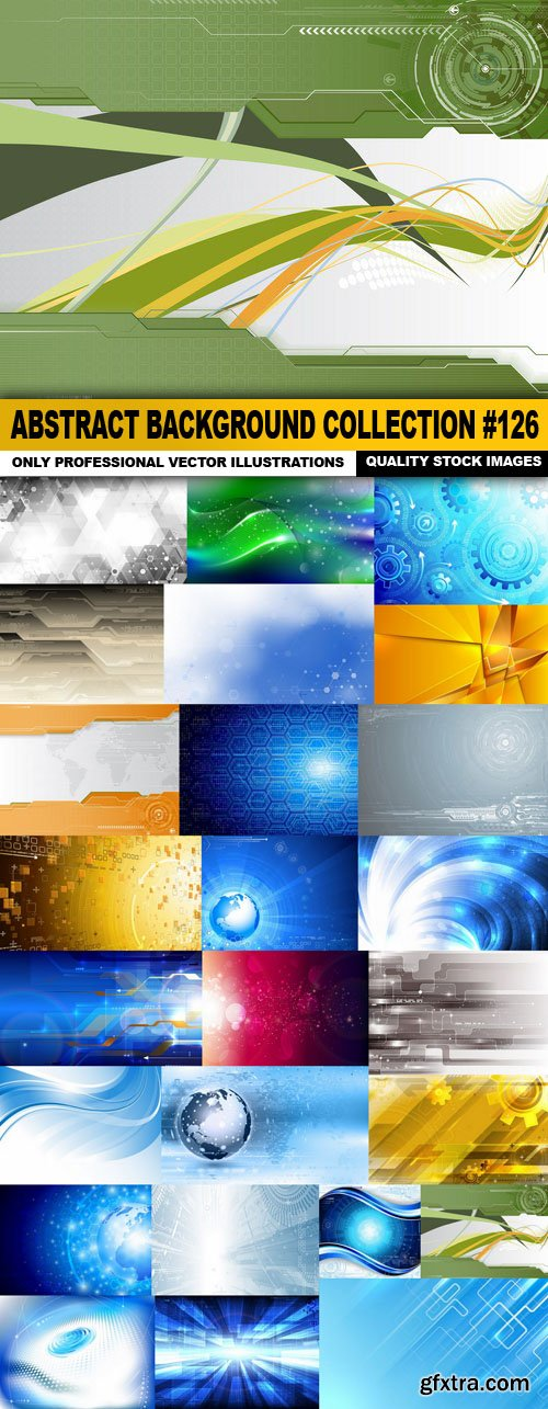 Abstract Background Collection #126 - 25 Vector