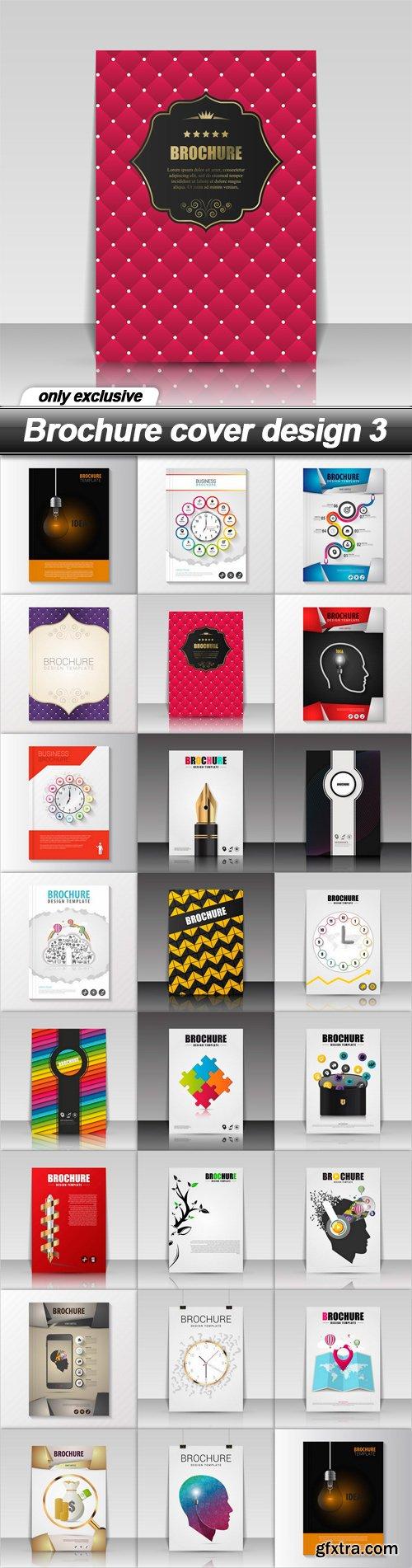 Brochure cover design 3 - 23 EPS