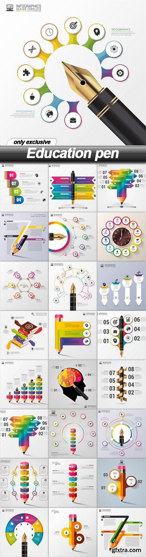 Education pen - 25 EPS