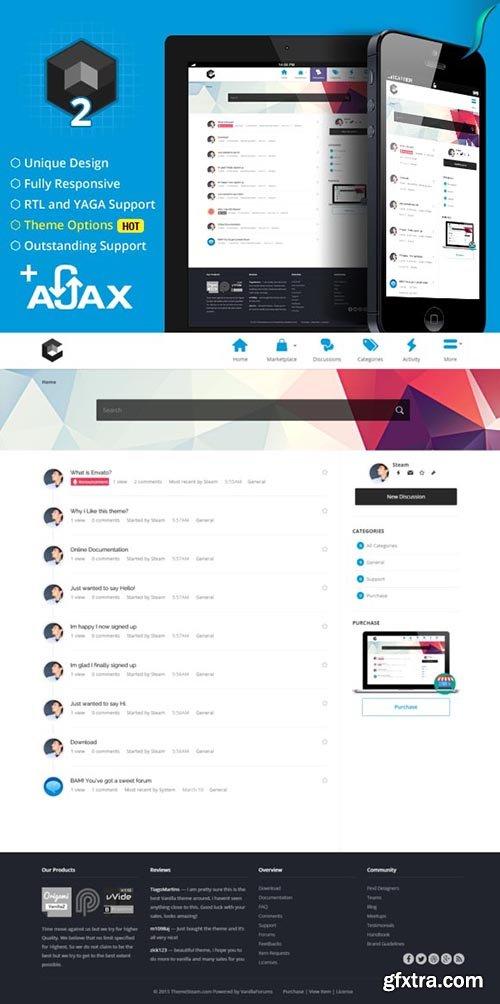 Cube - Ajax Vanilla 2 Theme - CM 593912