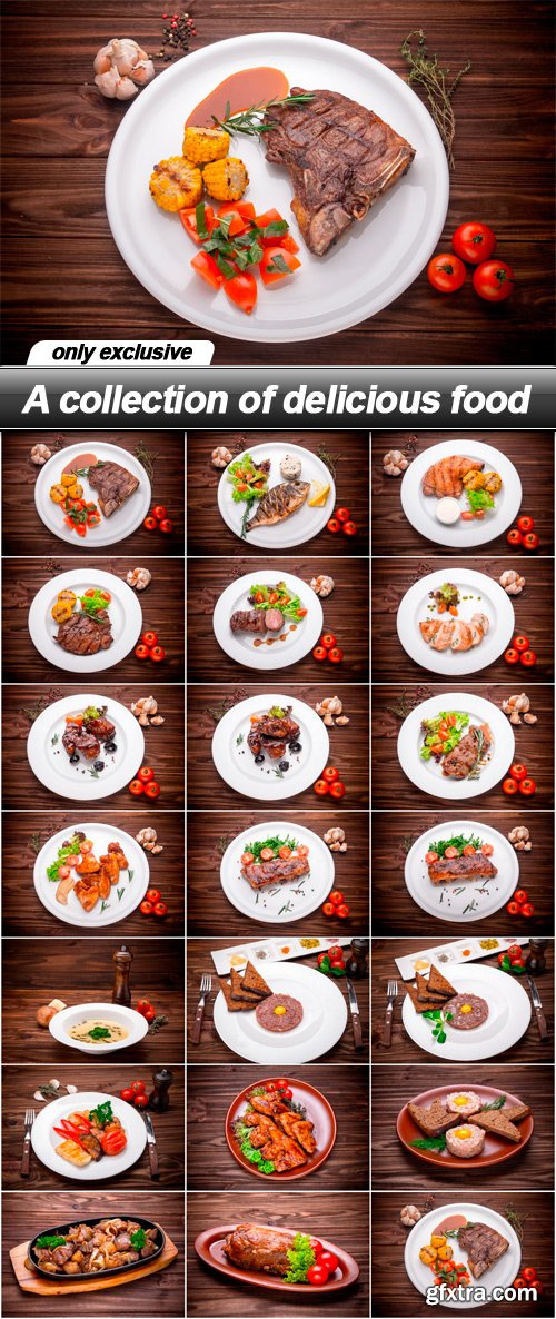 A collection of delicious food - 20 UHQ JPEG