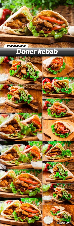 Doner kebab - 15 UHQ JPEG