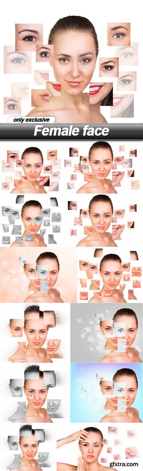 Female face - 12 UHQ JPEG