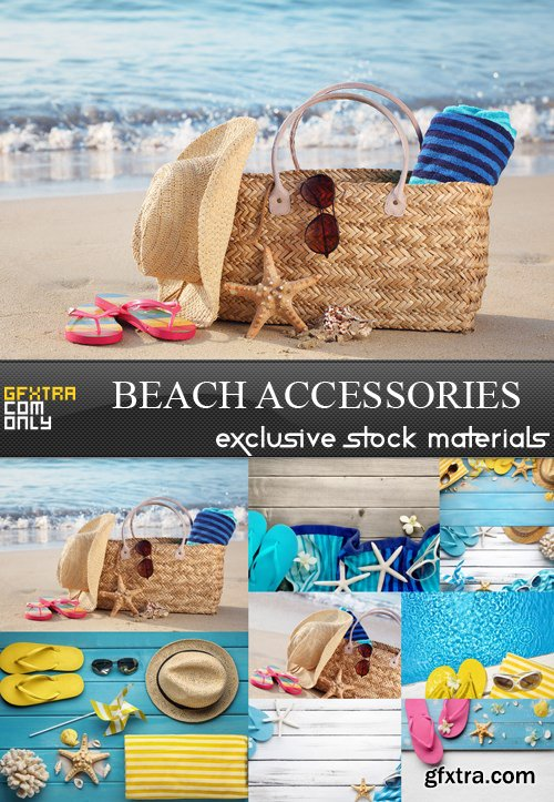 Beach Accessories - 9 UHQ JPEG