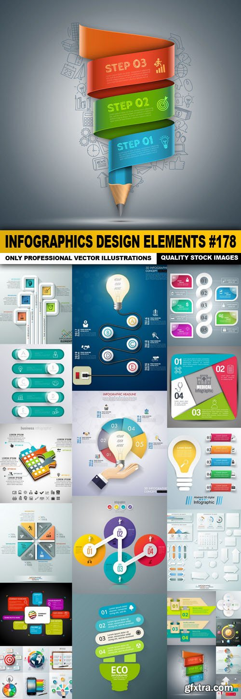 Infographics Design Elements #178 - 20 Vector