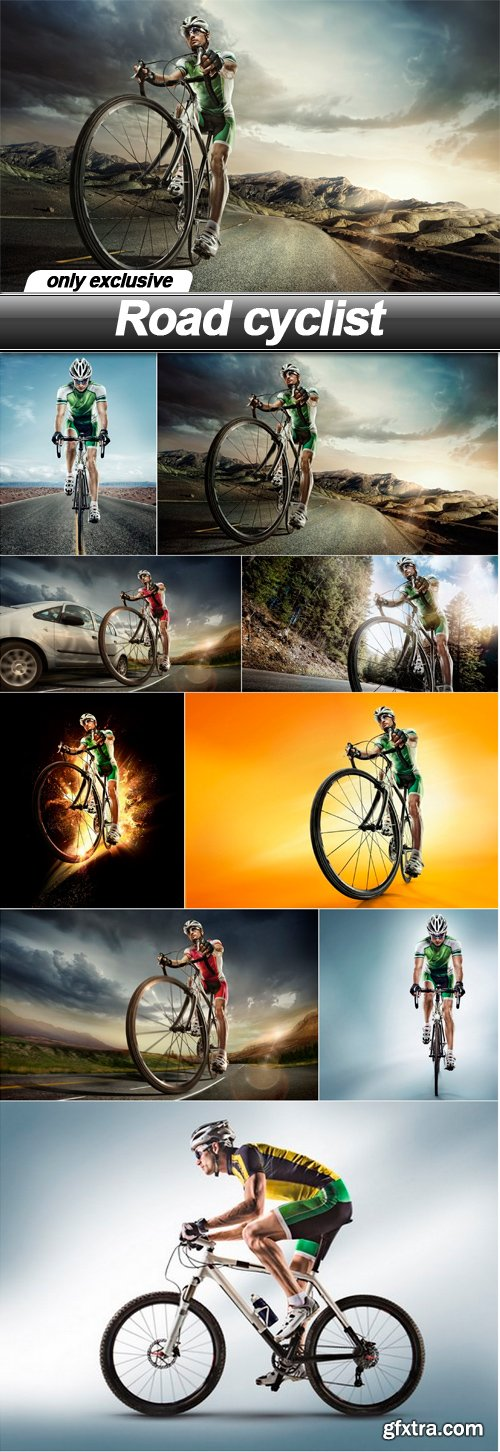Road cyclist - 9 UHQ JPEG