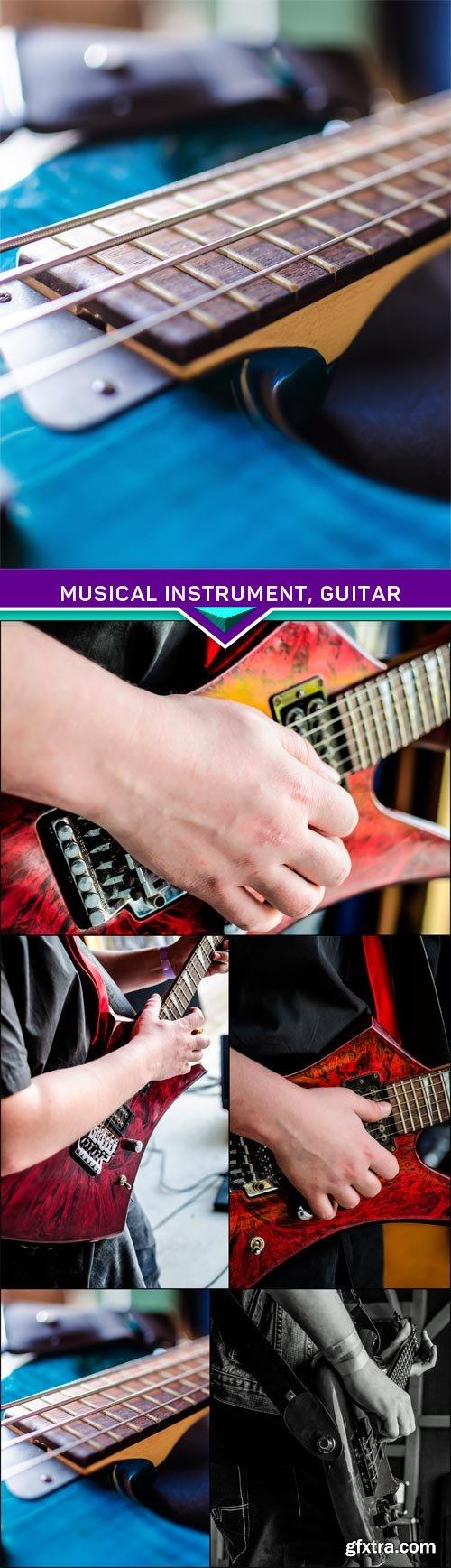 Musical instrument, guitar 5x JPEG