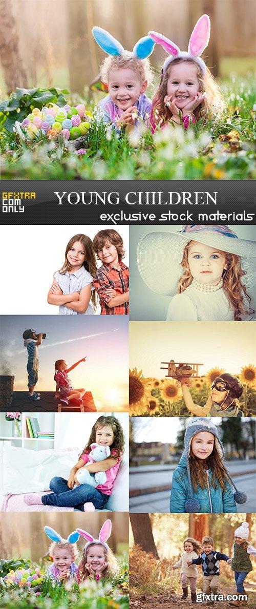 Young Children, 8 x UHQ JPEG