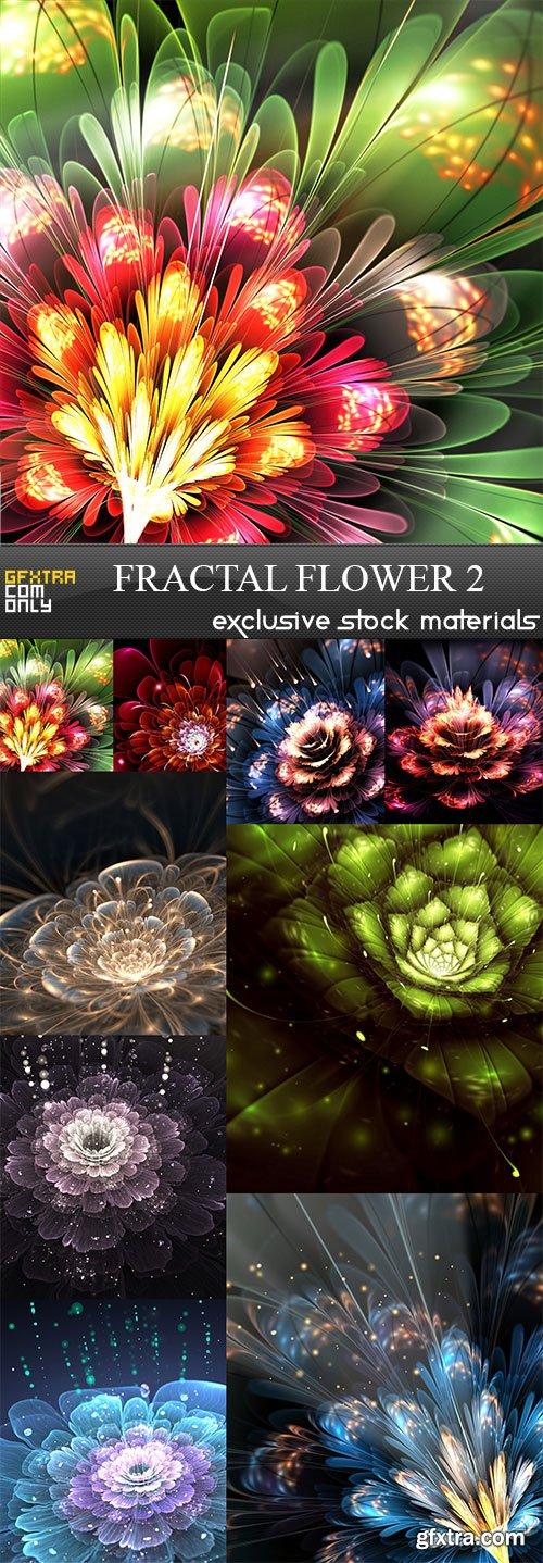 Ffractal flower 2, 9  x  UHQ JPEG