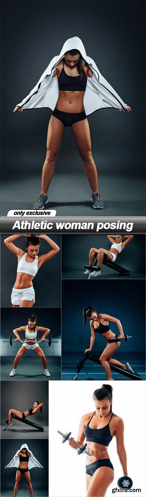 Athletic woman posing - 7 UHQ JPEG