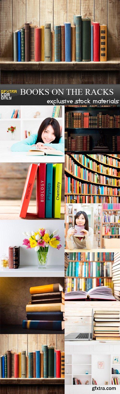Books On The Racks - 11 x JPEGs