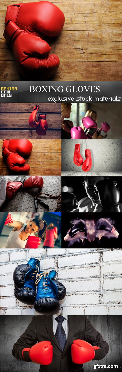 Boxing Gloves  - 10 x JPEGs
