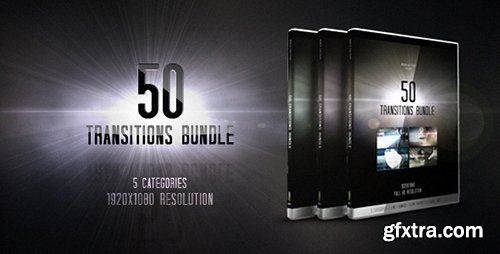 Videohive 50 Transitions Bundle 4070971