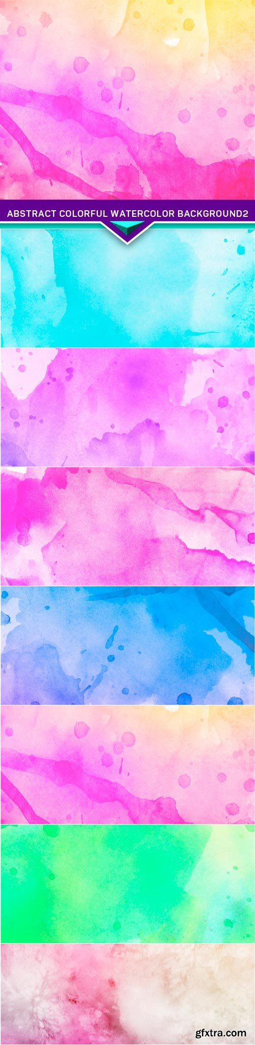 Abstract colorful watercolor background2 7x JPEG