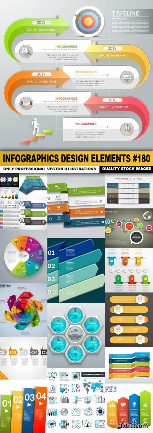 Infographics Design Elements #180 - 20 Vector