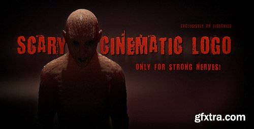 Videohive - Scary Cinematic Logo Reveal - 6771914