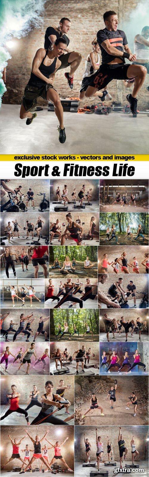 Sport & Fitness Life - 23xUHQ JPEG