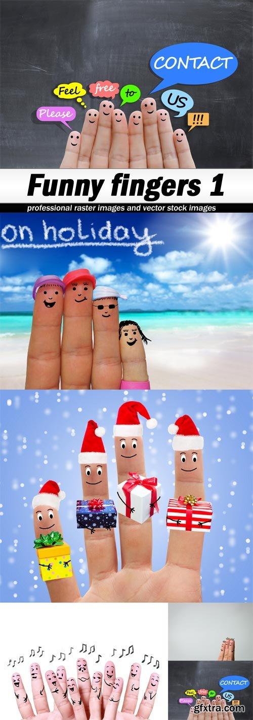 Funny fingers 1-5xJPEGs