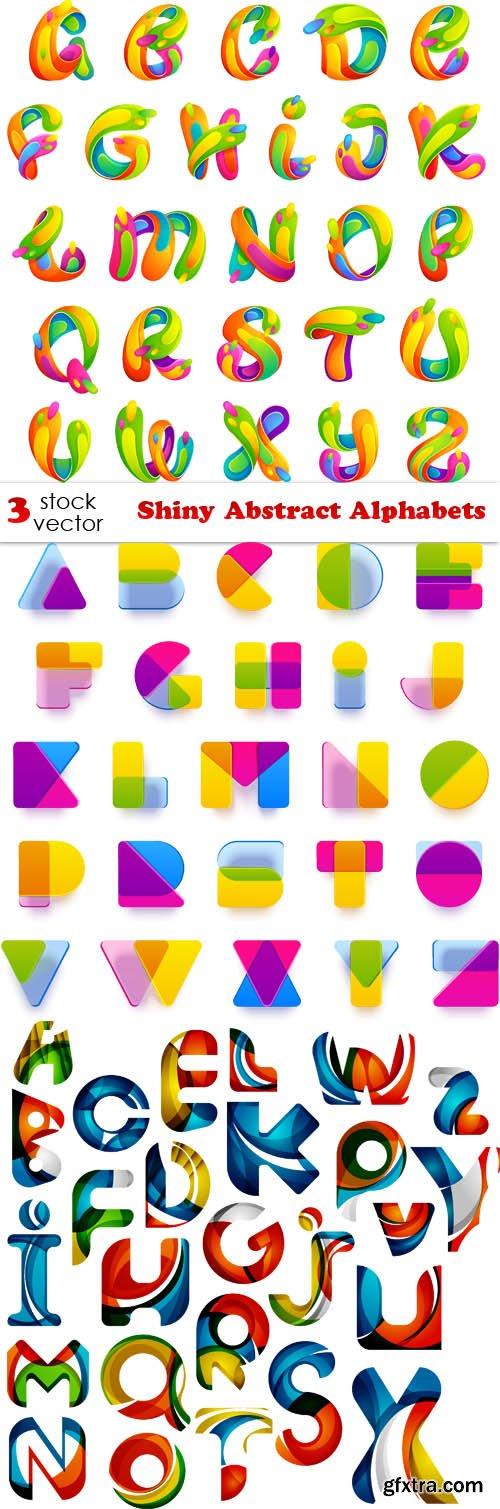 Vectors - Shiny Abstract Alphabets