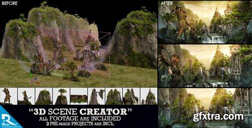 Videohive - 3D Scene Creator Kit - 15927503