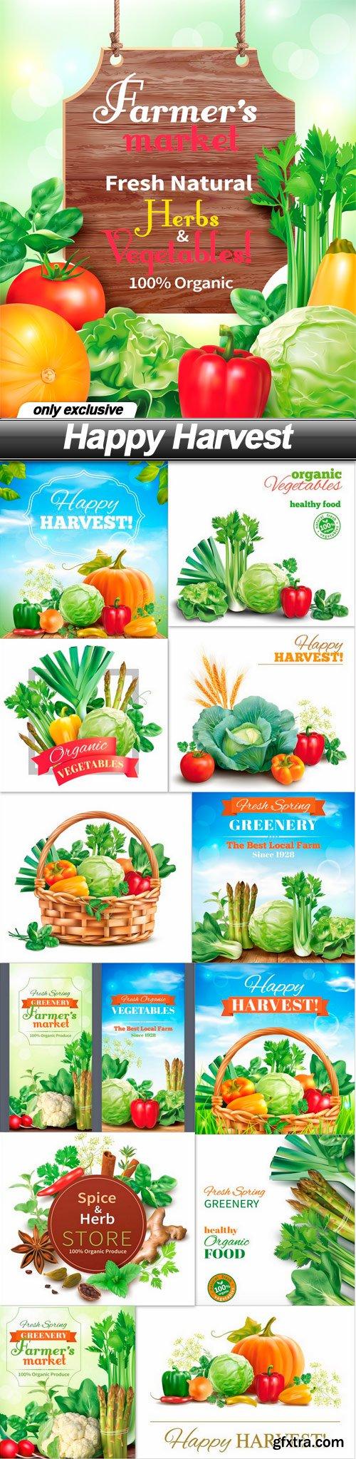 Happy Harvest - 13 EPS