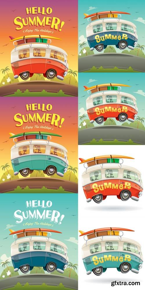 Camper Van - Summer Vacation