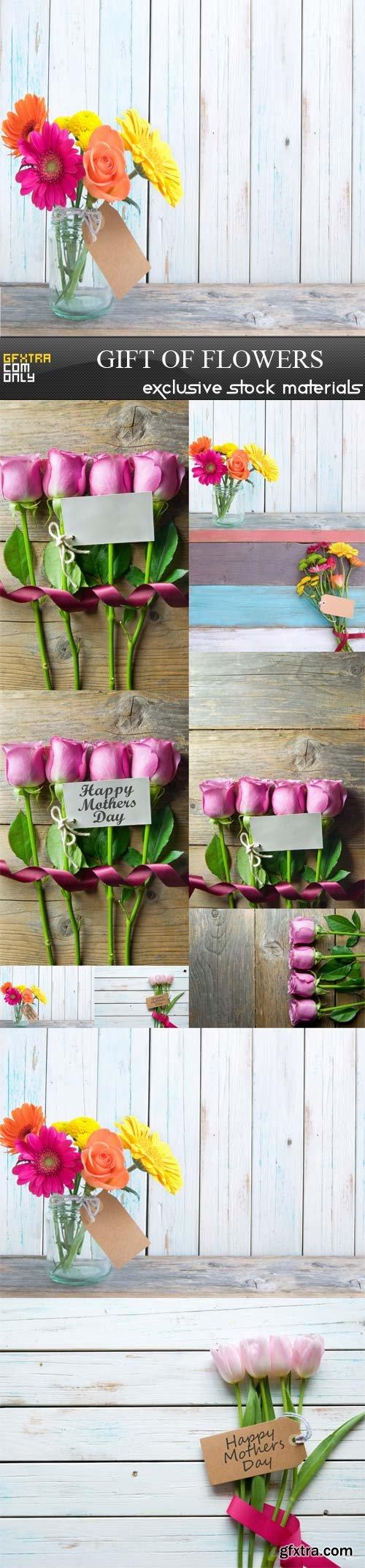Gift of flowers, 10 UHQ JPEG