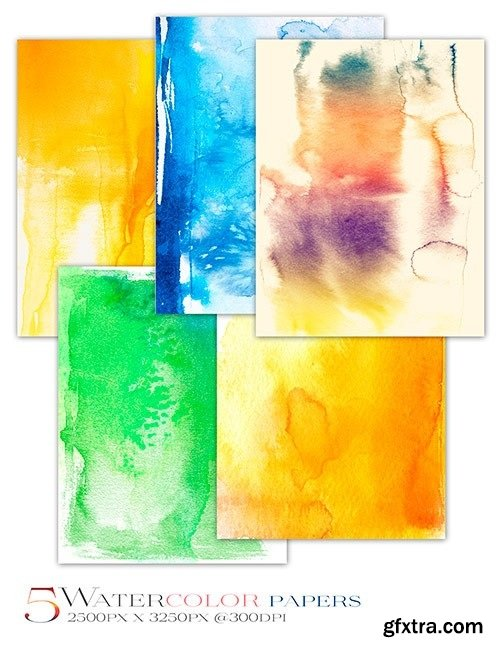 Ron's Watercolor Photoshop Brushes