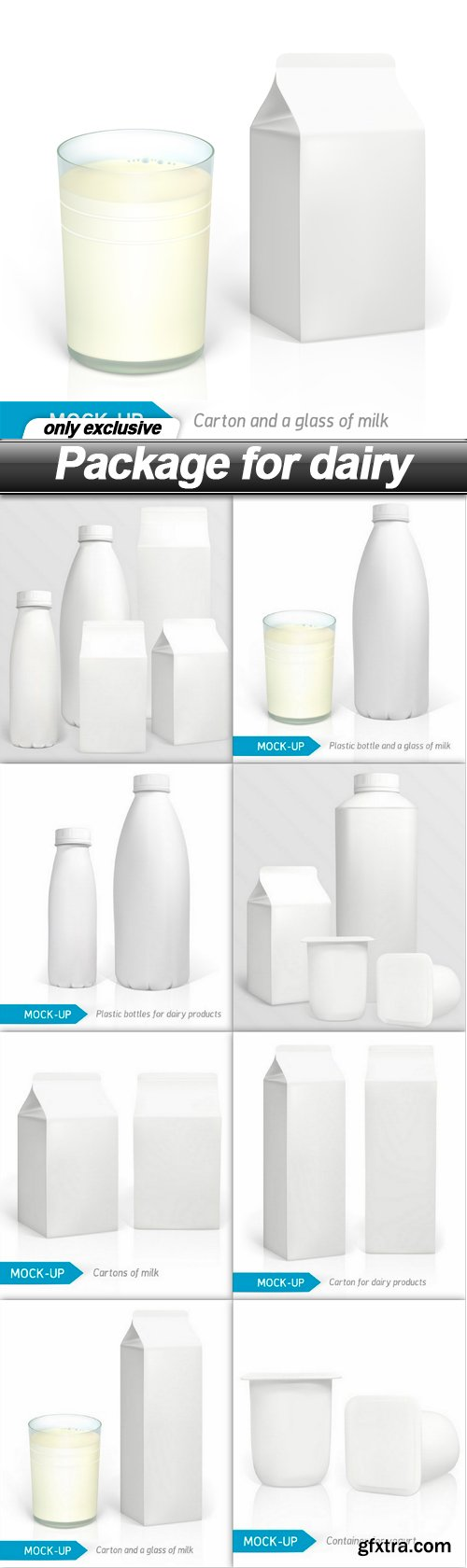 Package for dairy - 9 EPS