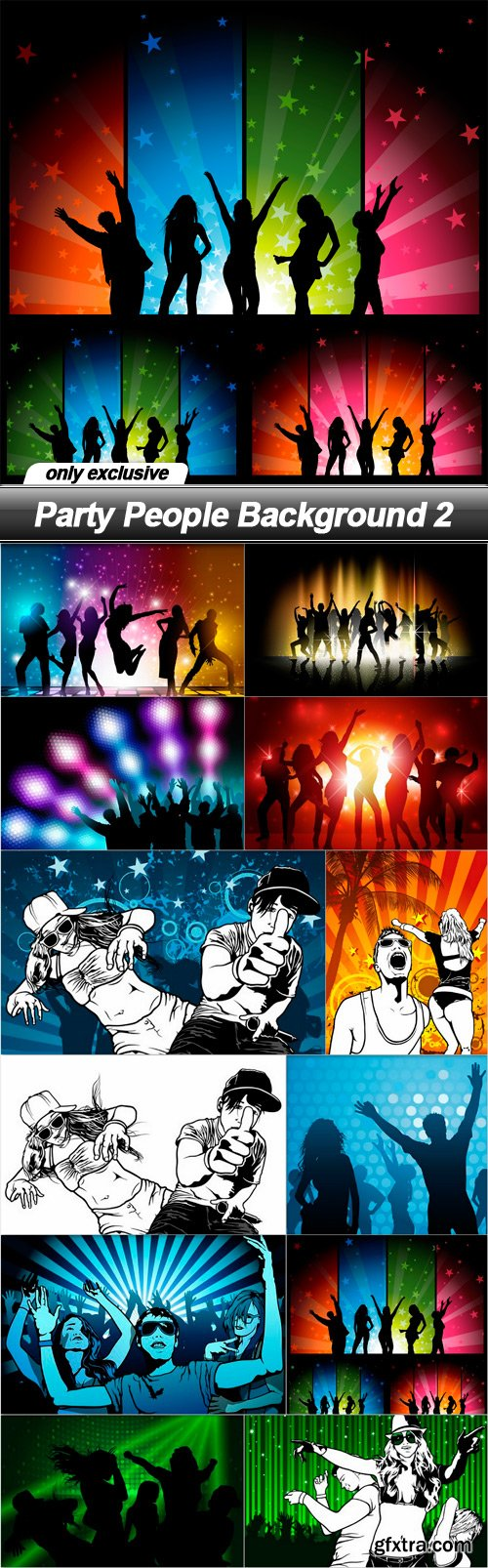 Party People Background 2 - 12 EPS