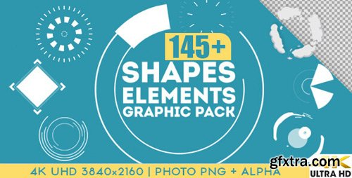 Videohive - Shapes & Elements Graphic Pack - 15357895