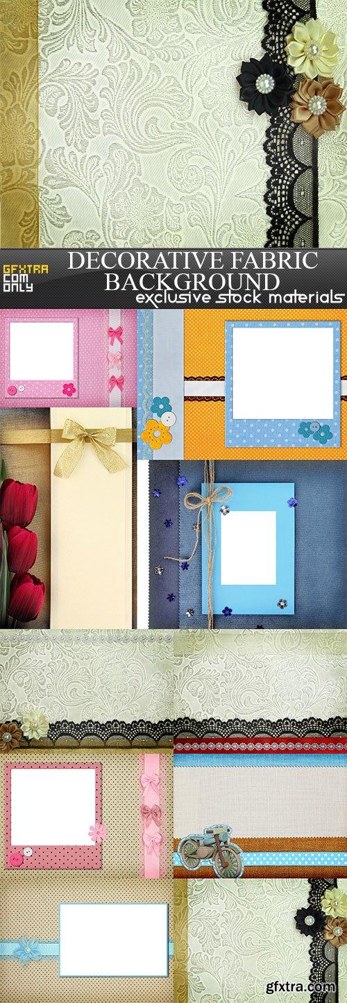 Decorative fabric background, 10  x  UHQ JPEG