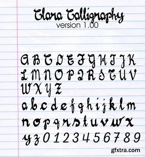 Clara Calligraphy Font