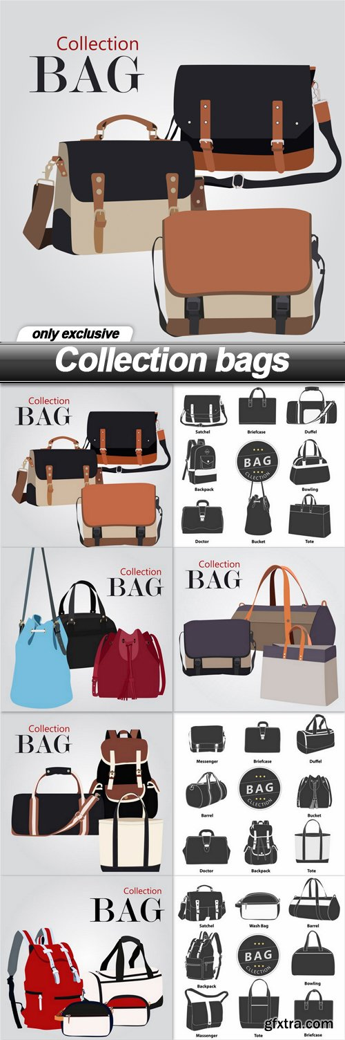 Collection bags - 8 EPS