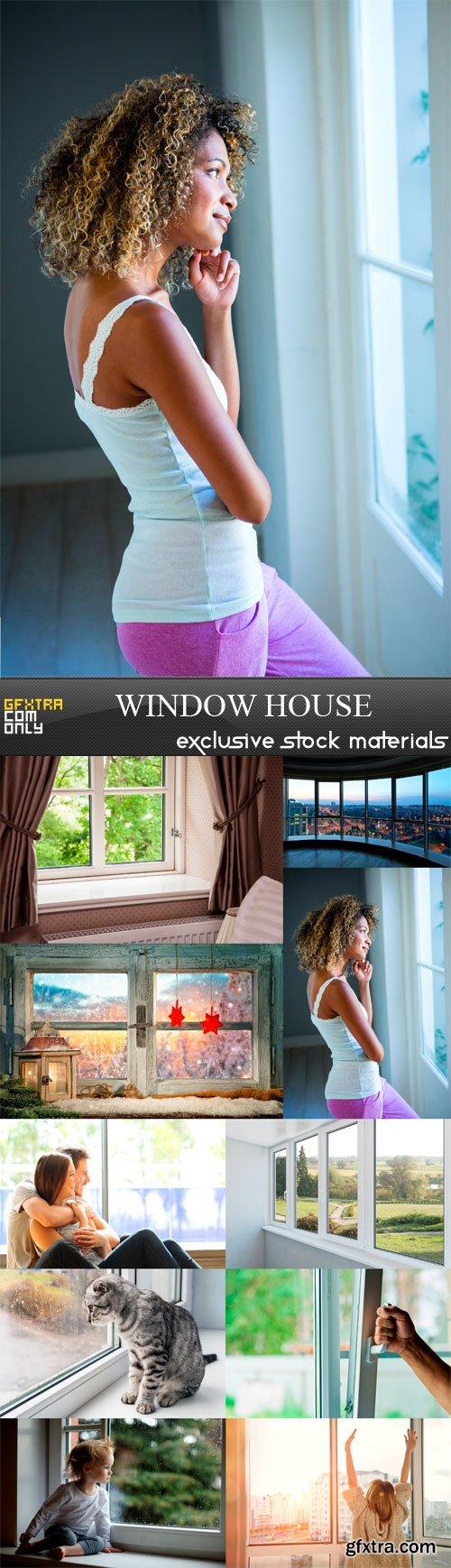 Window House - 10 x JPEGs