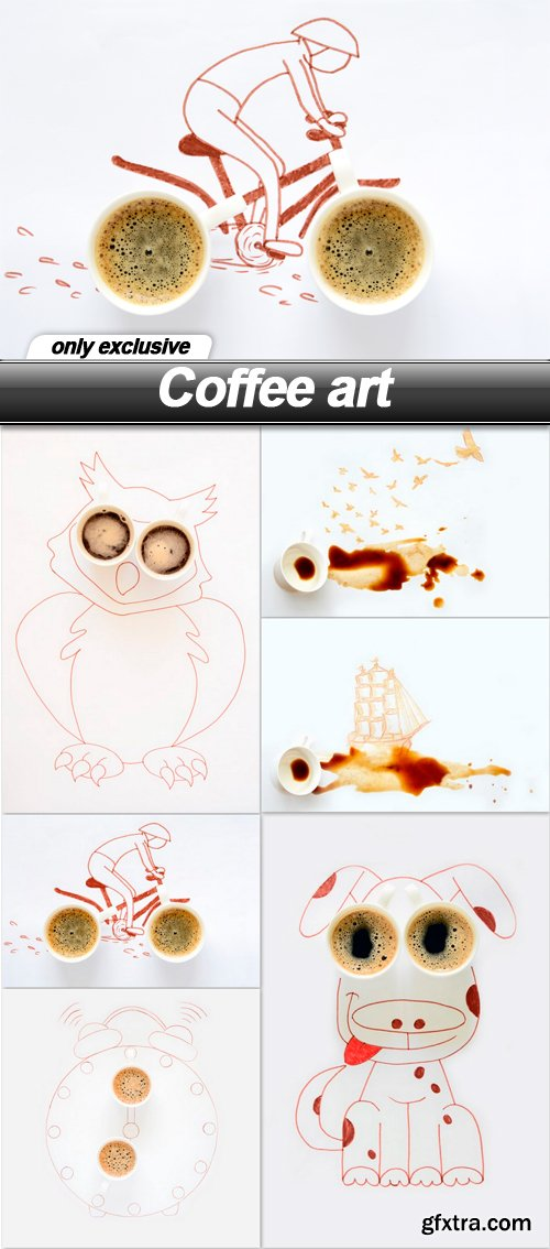 Coffee art - 6 UHQ JPEG