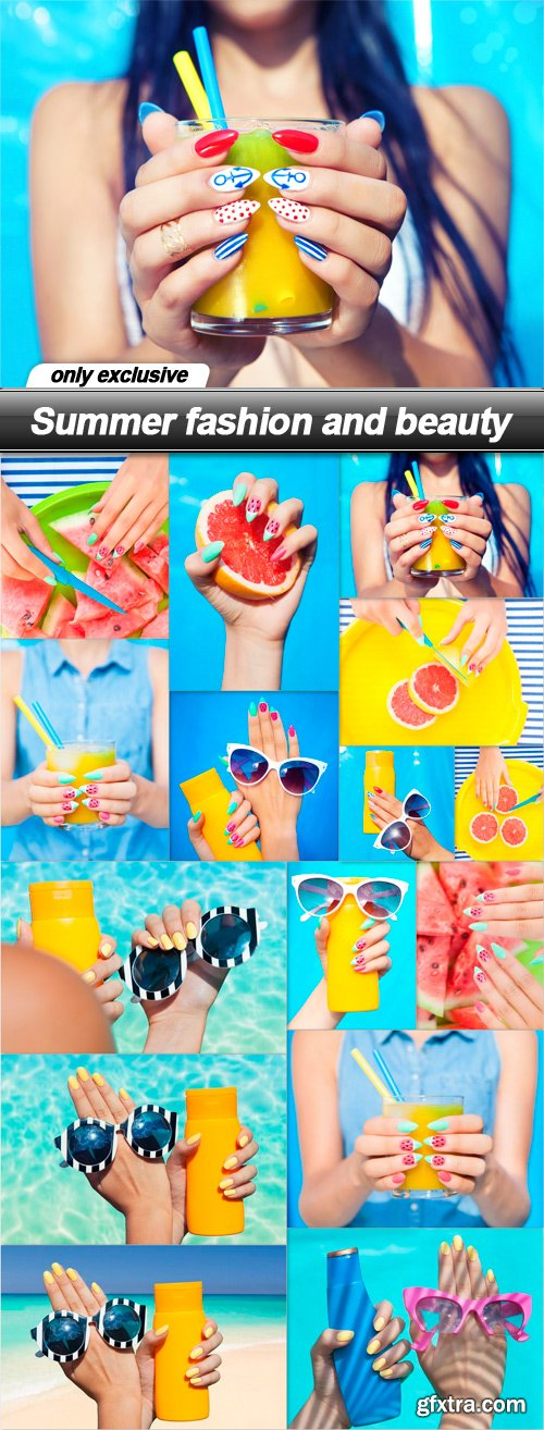 Summer fashion and beauty - 15 UHQ JPEG
