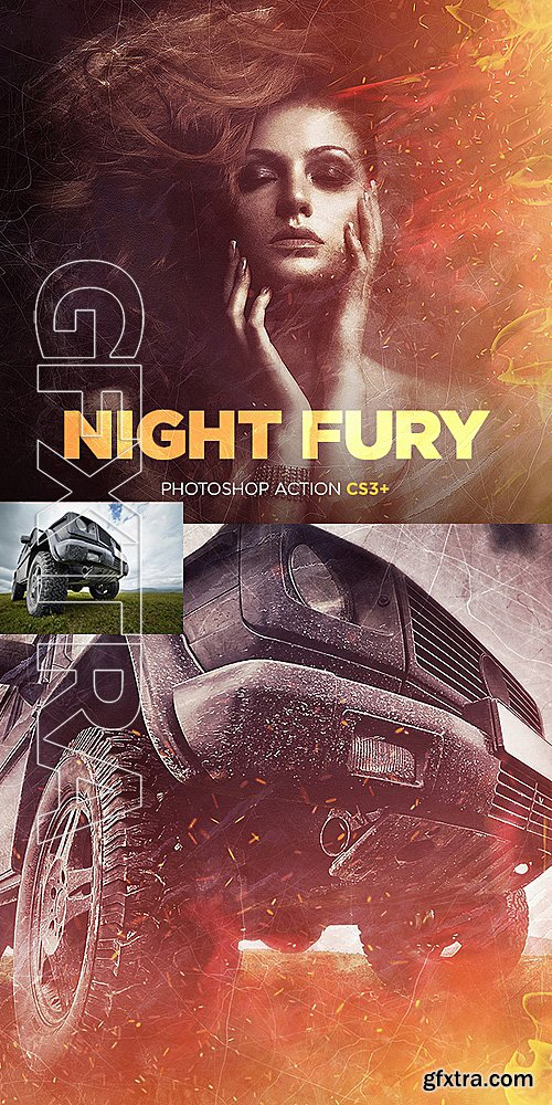 GraphicRiver - Night Fury Photoshop Action 16074494