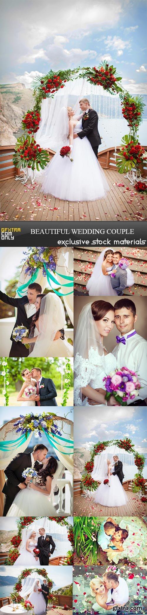 Beautiful wedding couple, 10 x UHQ JPEG