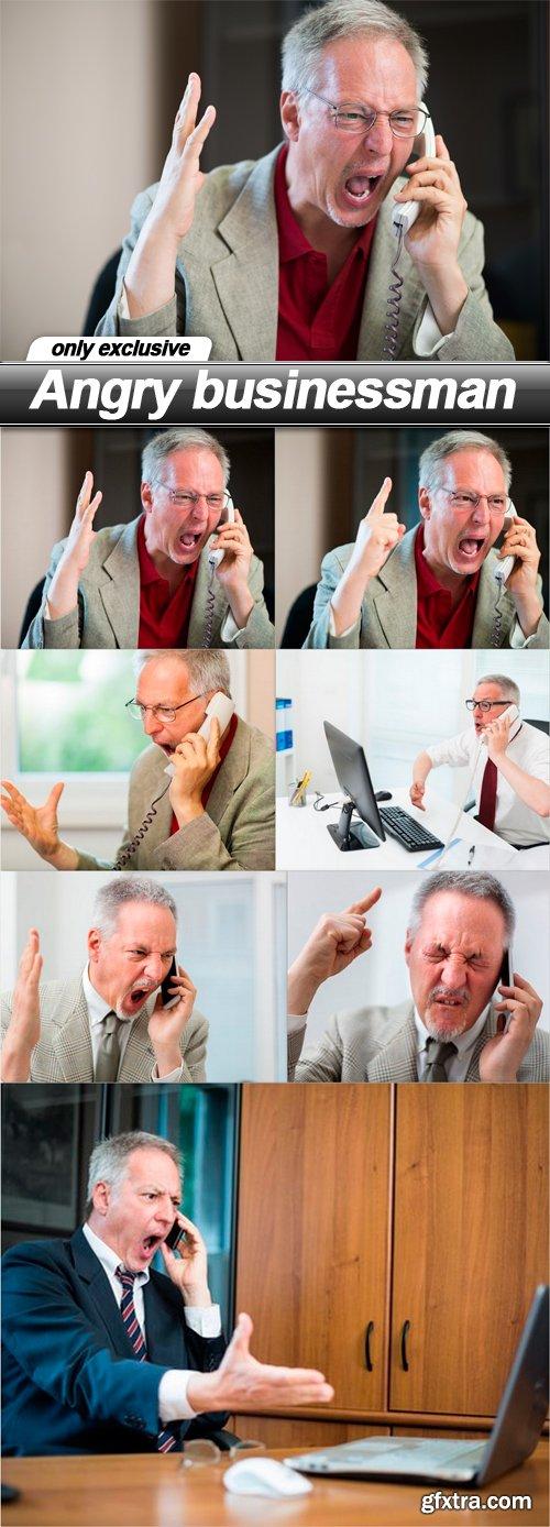 Angry businessman - 7 UHQ JPEG