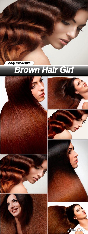 Brown Hair Girl - 7 UHQ JPEG