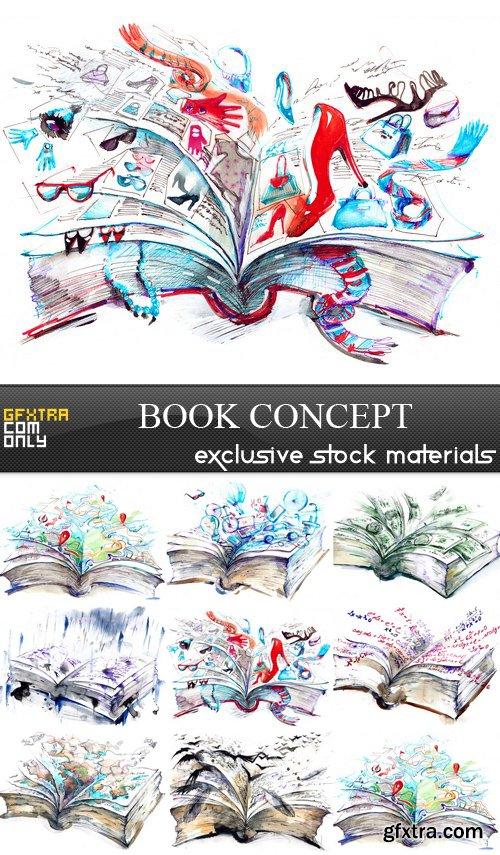 Book Concept - 8 UHQ JPEG