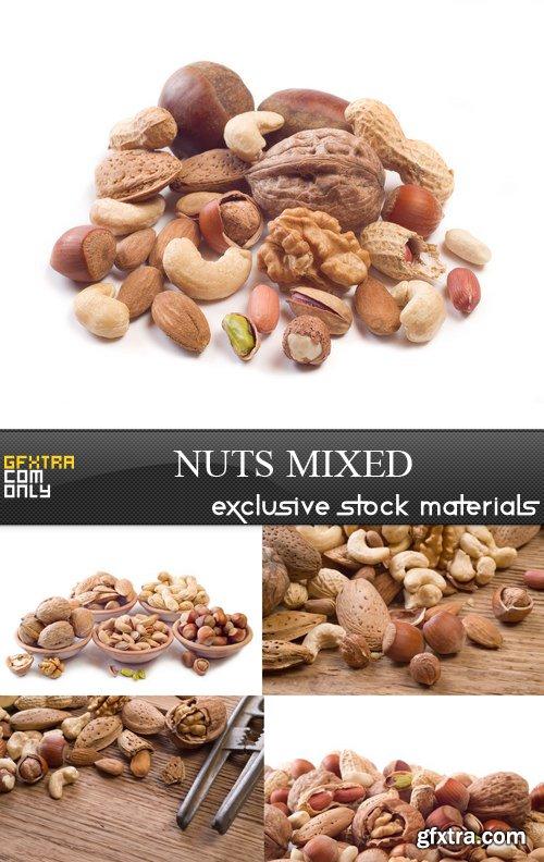 Nuts Mixed - 5 UHQ JPEG