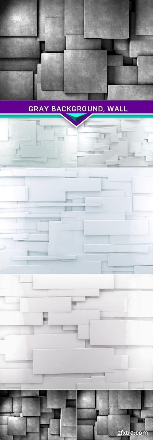 Gray background, wall 6x JPEG