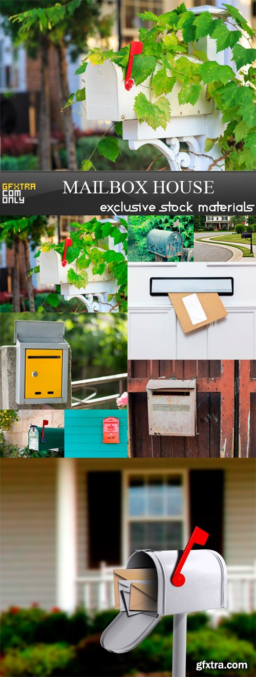 Mailbox House - 9 x JPEGa